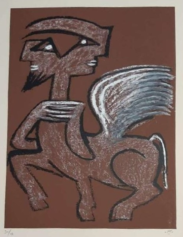 罗贝托•马塔 - 版画 - Centauro