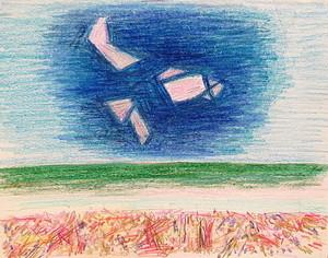 Karl KLUTH - Dibujo Acuarela - Abstrakte Komposition