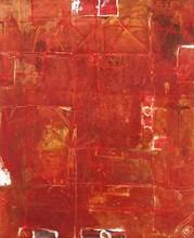 Xavier PUIGMARTI - Painting - Maisons rouges