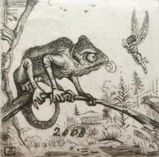 Philippe MOHLITZ - Grabado - Nature