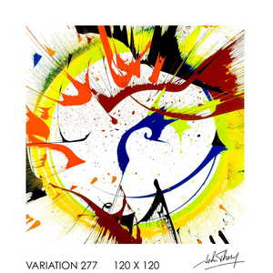 John THERY - Painting - Variation 277