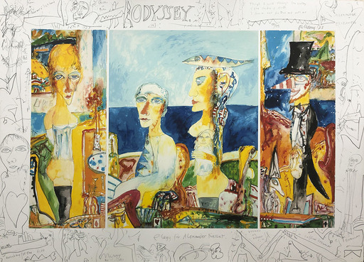 John BELLANY - Print-Multiple - Odyssey: Elegy for Alexander Kasser