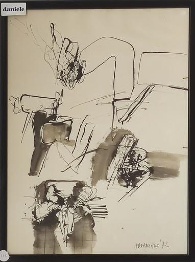 Natale ADDAMIANO - Drawing-Watercolor - Senza titolo