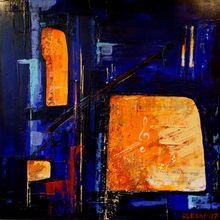 Ursula ULESKI - Gemälde - Improvision 4