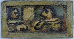 Georges ROUAULT - Painting - Duo Cirque