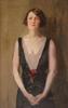 Isaac Lazarus ISRAELS - Painting - Portait of Beulah Watson