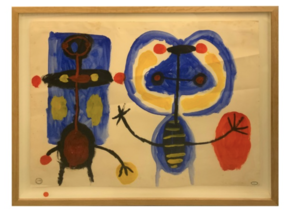 Albert CHUBAC - Zeichnung Aquarell - 272 Z