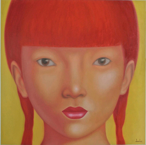 Jo CHANCHAI - Pittura - Eastern Beauties XVII