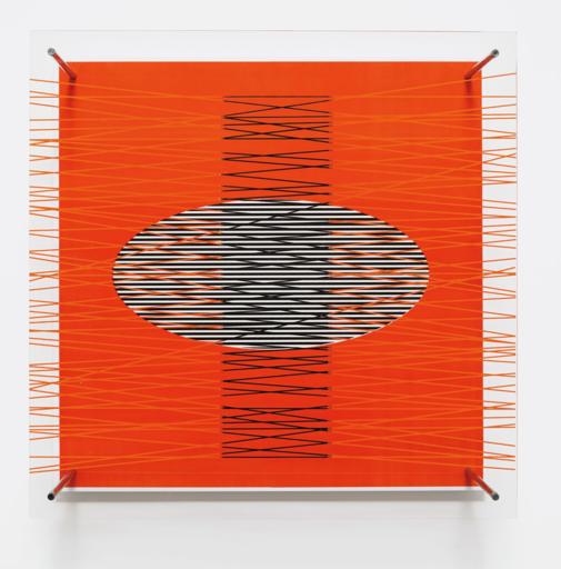Jesús Rafael SOTO - Sculpture-Volume - Óvalo en el rojo