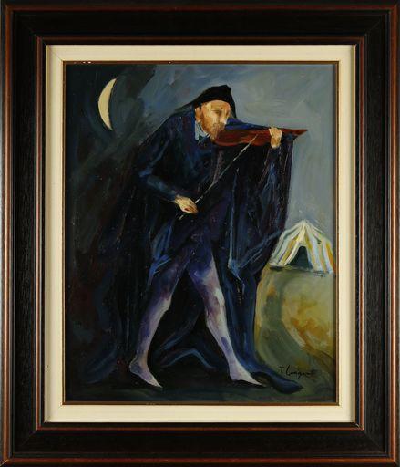 Trento LONGARETTI - Pintura - violinista