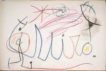 Joan MIRO (1893-1983) - Miro Signature Drawing