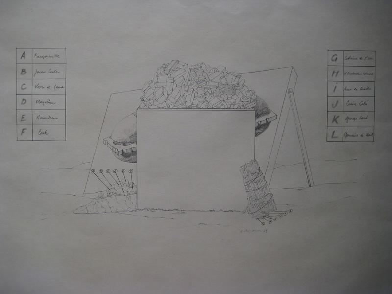 Gérard TITUS-CARMEL - Zeichnung Aquarell - RARE DESSIN AU CRAYON 1969 SIGNÉ HANDSIGNED PENCIL DRAWING