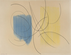 Hans HARTUNG - Drawing-Watercolor - P1957-76