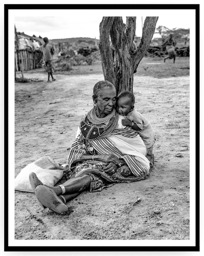 Mario MARINO - Fotografia - Grandmother and Child, Africa, 2018.