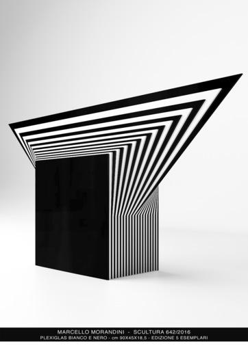 Marcello MORANDINI - Sculpture-Volume - Scultura 642/2016