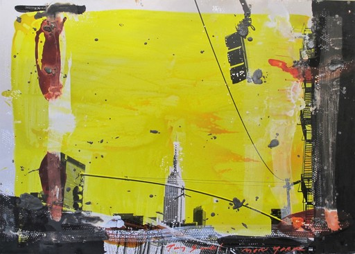 Tony SOULIÉ - Painting - New-York