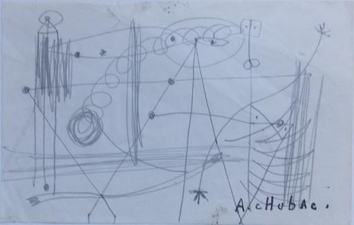 Albert CHUBAC - Dessin-Aquarelle - MOBILES
