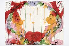 Norman BLUHM - Drawing-Watercolor - Sans titre