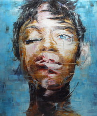 Harding MEYER - Pittura - o.T. (16-2016)