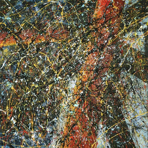 Jean-Jacques MARIE - Gemälde - Composition A411