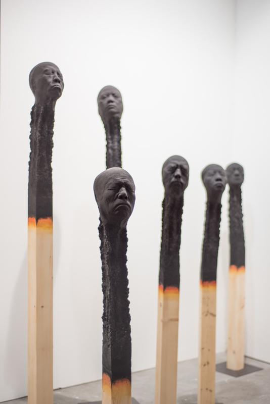 Wolfgang STILLER - Sculpture-Volume - MATCHSTICKMEN