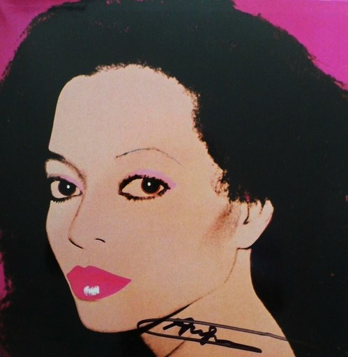 Andy WARHOL - Grabado - Diana Ross