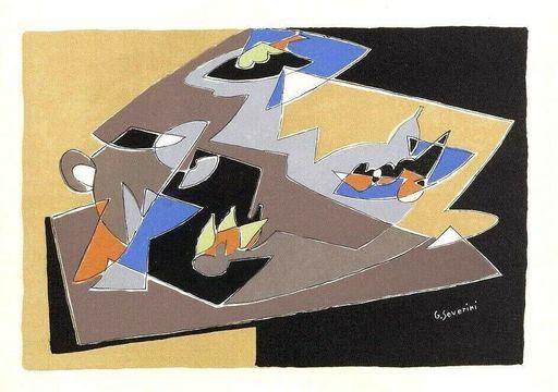 Gino SEVERINI - Print-Multiple - Natura morta
