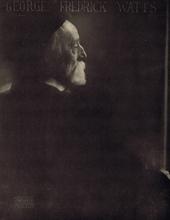 Edward STEICHEN - Fotografia - George Frederick Watts