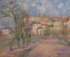 Gustave LOISEAU - Painting - Verger à Hérouville