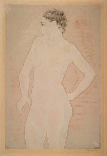 Tsuguharu FOUJITA - Print-Multiple - Femme debout