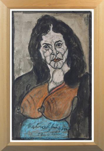 Pietro GHIZZARDI - Gemälde - Ritratto di donna