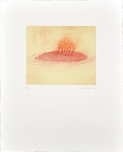 Leiko IKEMURA - Print-Multiple - La isla enrojada