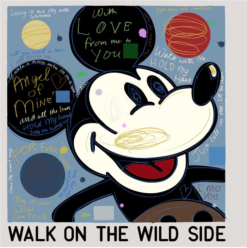 David SPILLER - Print-Multiple - Mickey - Walk on the wild Side
