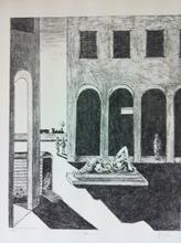 乔治•德•基里科 - 版画 - Malinconia