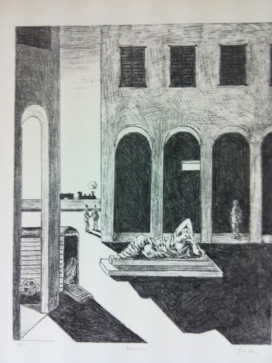 Giorgio DE CHIRICO - Print-Multiple - Malinconia
