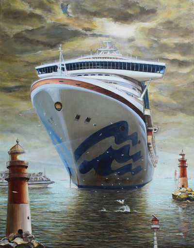 Irina VOLOVA - Pittura - Diamond Princess    (Cat N° 6581)