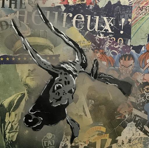KIKI - Gemälde - l'Après Histoire - Le taureau