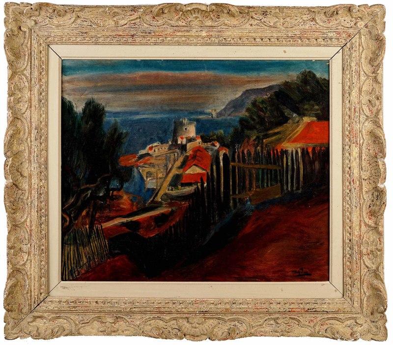 Henri HAYDEN - Gemälde - Landscape