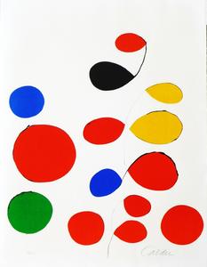 Alexander CALDER, Spirales & Circles