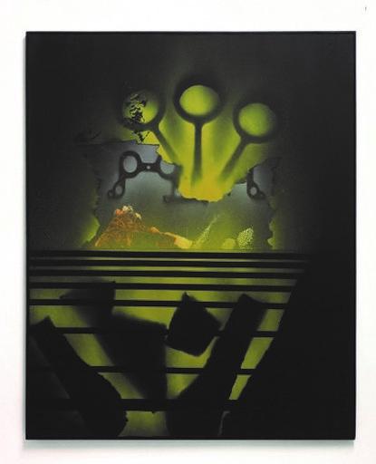 Jean TRIFFEZ - Painting - La peur est une affaire