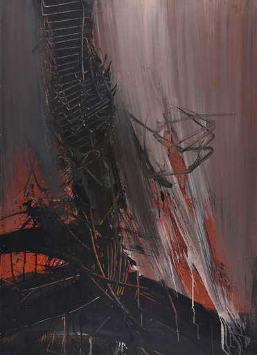 Emilio SCANAVINO - Peinture - Il grande alto
