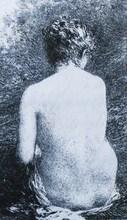 Henri-Théodore FANTIN-LATOUR (1836-1904) - « Etude de femme assise, vue de dos »