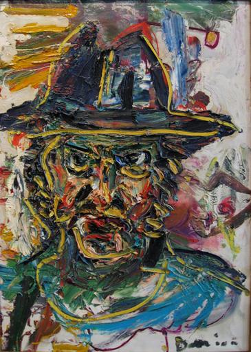 Bernard DAMIANO - Painting - Autoportrait