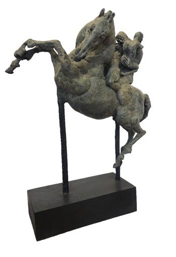 Val CARR-ORTOLAN - Sculpture-Volume - Ada, Harman et leur fils à venir