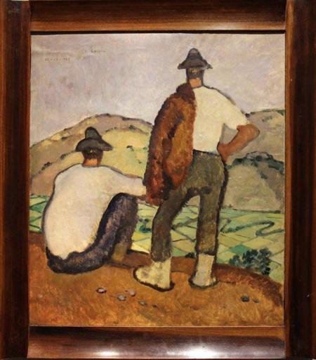 Felice CARENA - Gemälde - Ad Anticoli Corrado
