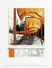 CHRISTO - Grabado - The Gates, (n)