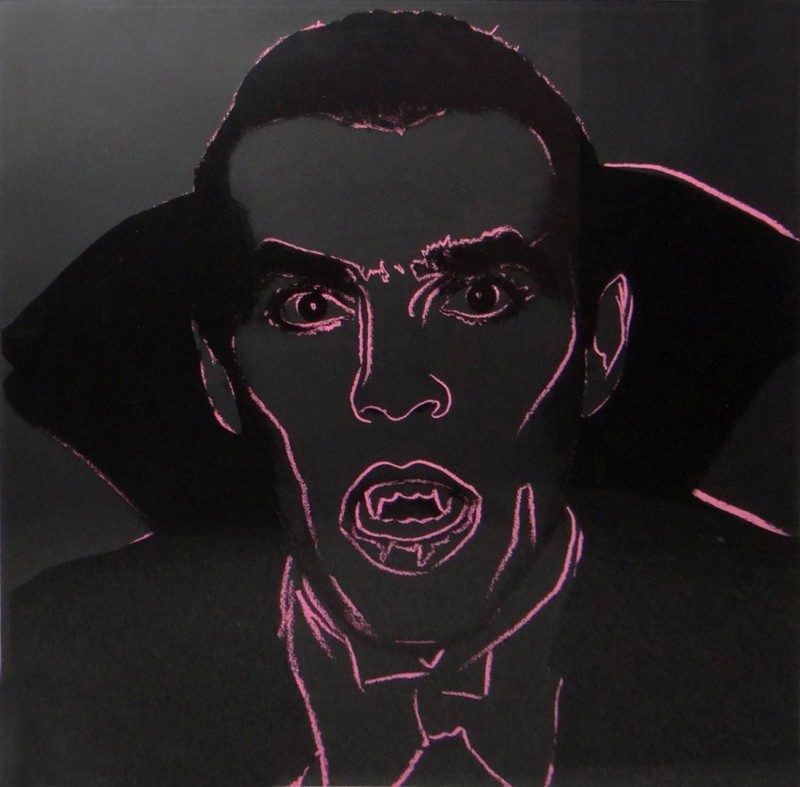Andy WARHOL - Stampa-Multiplo - Dracula