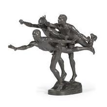 "Alfred BOUCHER - Sculpture-Volume - ""Au But"""