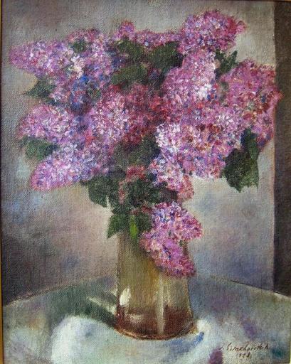 Simkha SIMKHOVITCH - Pintura - Lilacs