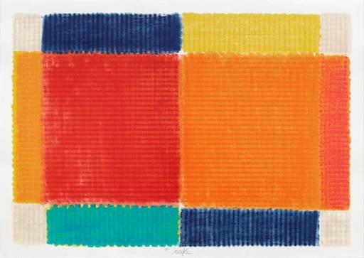Heinz MACK - Grabado - Die Temperatur der Farben - The Temperature of Colors